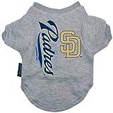Hunter Mfg DN-309197241-XL San Diego Padres Dog Tee Shirt - Extra Large
