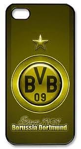 LZHCASE Personalized Protective Case for iPhone 5 - Sports Borussia Dortmund Football Club Logo