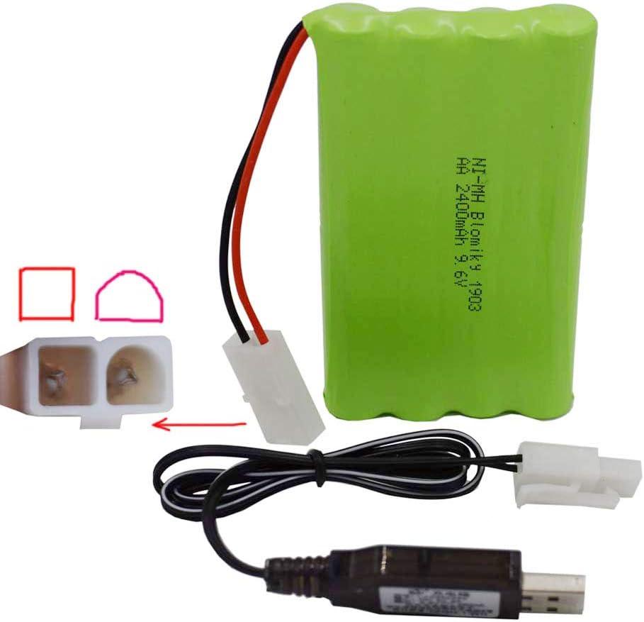 Bateria Blomiky 2 Pack 9.6v 800mah Ni-cd Aa (ljsd)