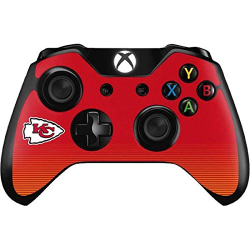 Skinit NFL Kansas City Chiefs Xbox One Controller Skin - Kansas City Chiefs Breakaway Design - Ultra Thin, Lightweight Vinyl Decal Protection by Skinit