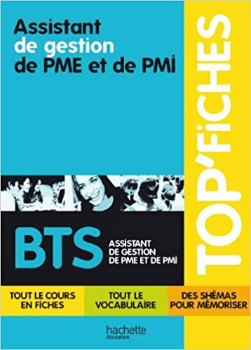 Livres gratuits en ligne TOP'Fiches - Assistant de gestion de PME et de PMI, BTS Assistant de gestion de PME et de PMI pdf, epub ebook