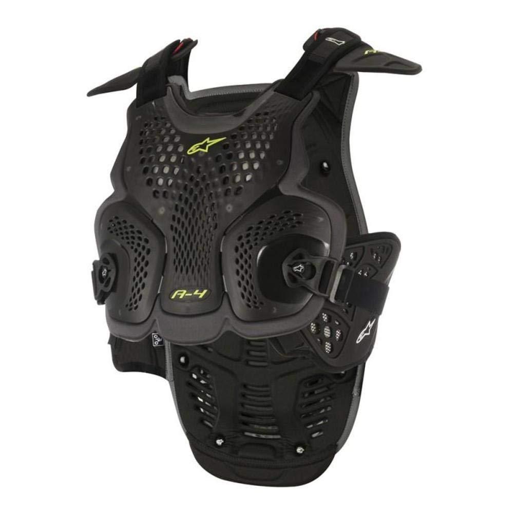 Alpinestars A-4 Chest Protector-Black//Antracite-M//L