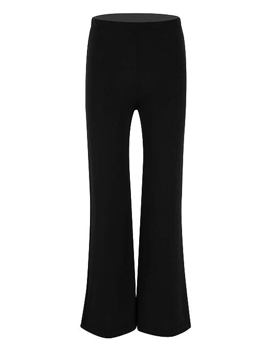 Amazon.com: YOOJIA Kids Girls Boys Yoga Pants Team Basic ...