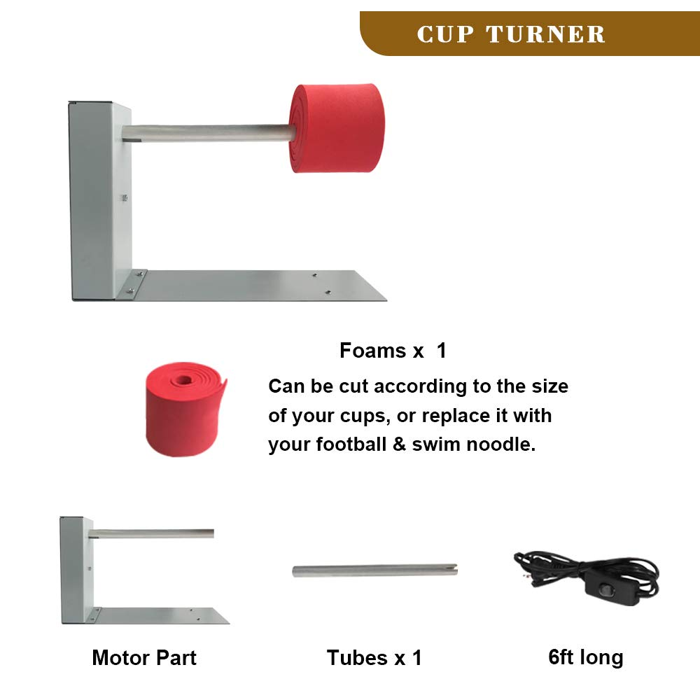 Cup Turner cuptisserie kit for Glitter epoxy tumblers /& Cups