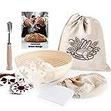 9 Inch Round Banneton Bread Proofing Basket for