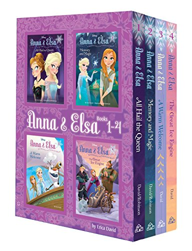 Anna & Elsa: Books 1-4 (Disney Frozen) (A Stepping Stone Book(TM))