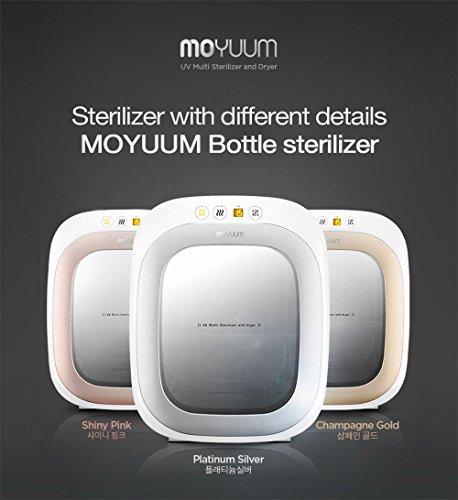 MOYUUM BUSTA-101 Baby Bottle sterilizer Silent mode Sterile storage Dry 220V
