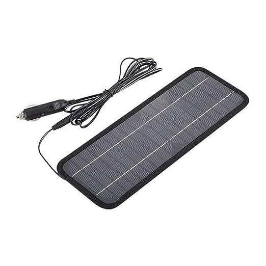 iSunday Panel Solar 12 V 5 W Cargador de batería Sistema ...