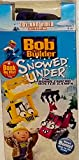 Bob the Builder (Toy and Video SET Limited Edition) Snowed Under VHS - Winter Games - With Rare Zoomer Snowmobile Vehicle