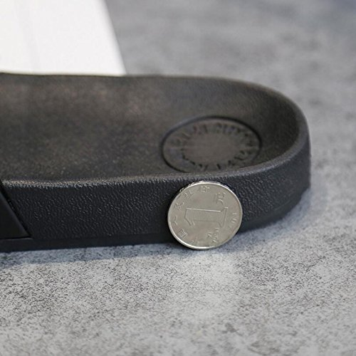 Zapatillas animados 41 Tamaño de baño antideslizantes Dibujos Duraderas Negro Zapatillas creativos verano de SUxian Zapatillas 40 Negro Color Sandalias 5Ynyx
