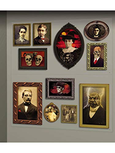 Gothic Mansion Portraits Scene Setters | Halloween Decorating Kit