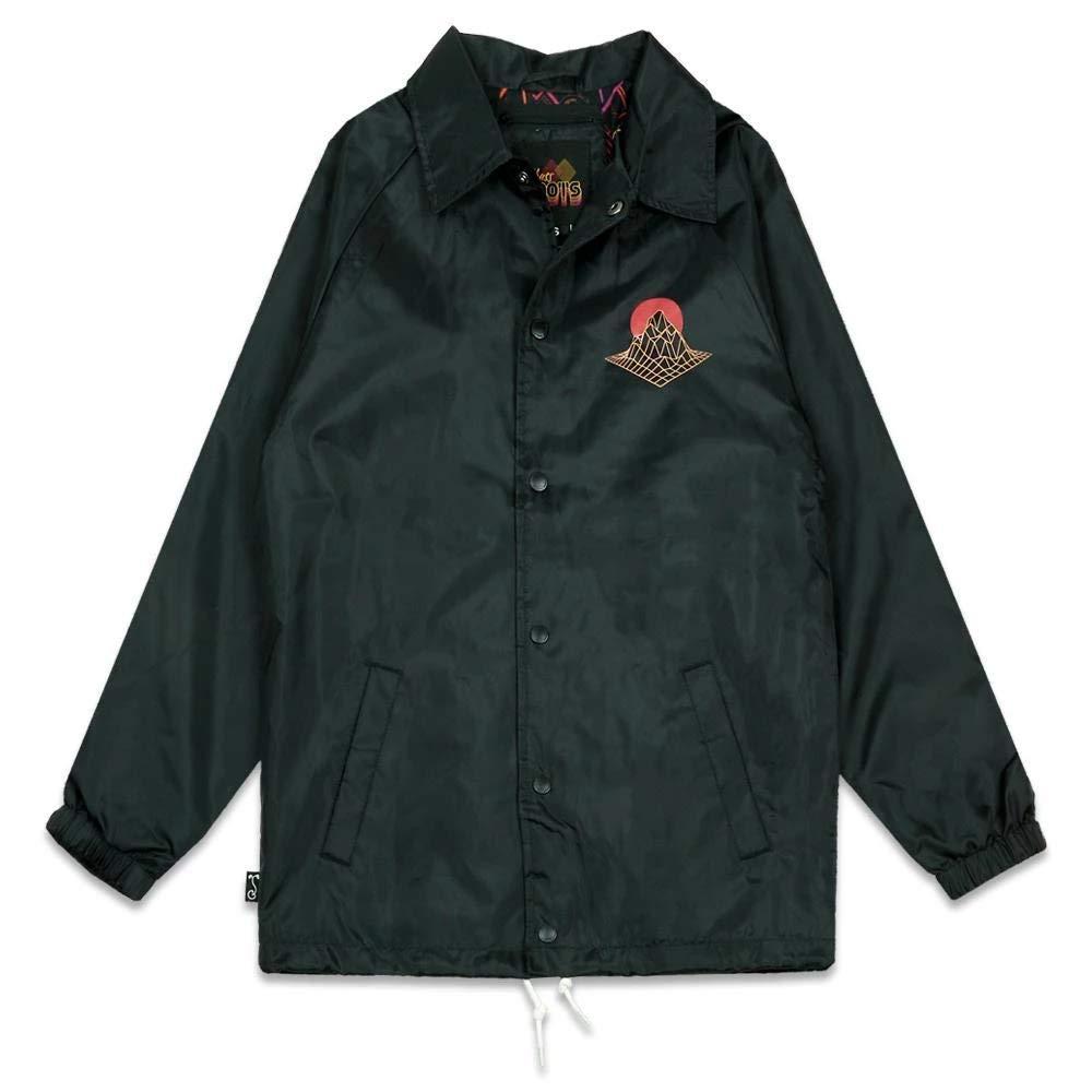 Grassroots California Danger Zone Black Coaches Jacket