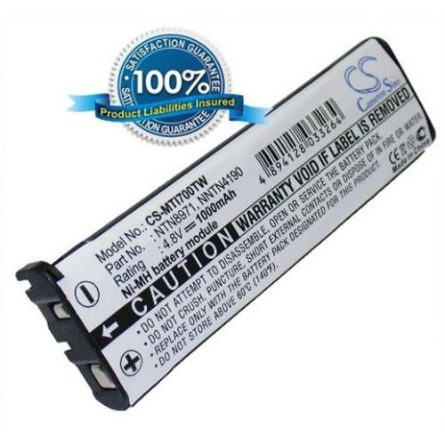 VINTRONS 1000mAh Ni-MH Battery Motorola NTN8971, NTN8971B Two Way Radio