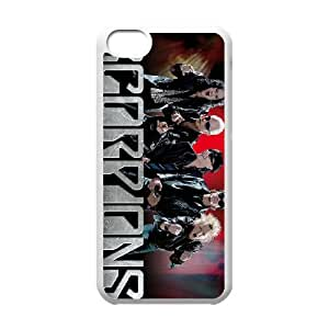 iPhone 5c Cell Phone Case Covers White Scorpions JU0055053