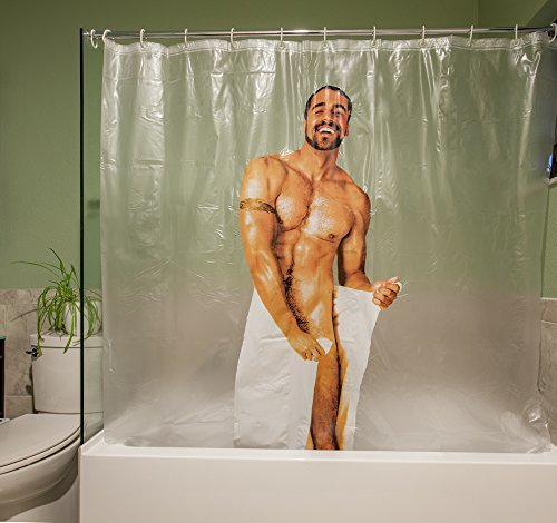 nude abo man in shower