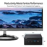 Asus PN40 Fanless Barebones Mini PC with Intel