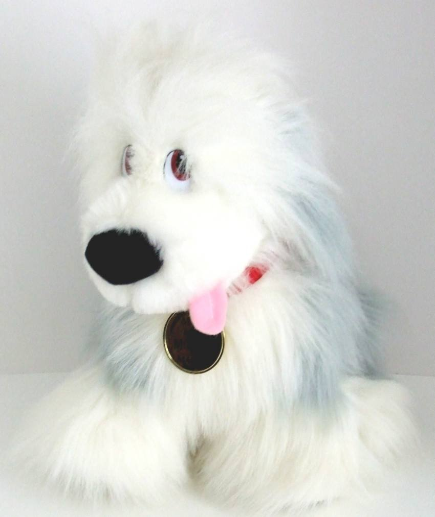 """Max"" from Disney's Little Mermaid 15"" Plush Sheepdog Exclusively for Macy's"