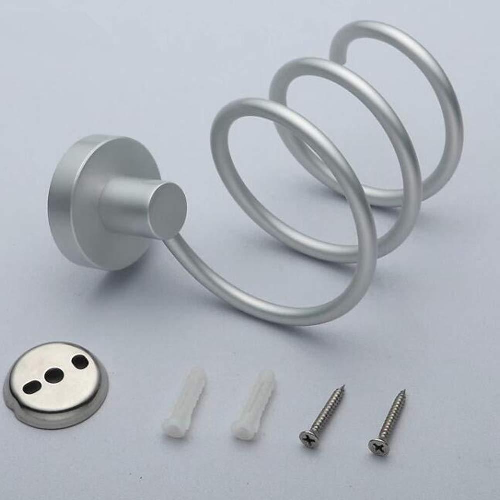 Ruiting Aluminium F/önhalter Spiral Praktische Halterung Wandhalterung h/ängend Badezimmer Regal Praktische Zubeh/örsatz Haushalts Rack Home dekor