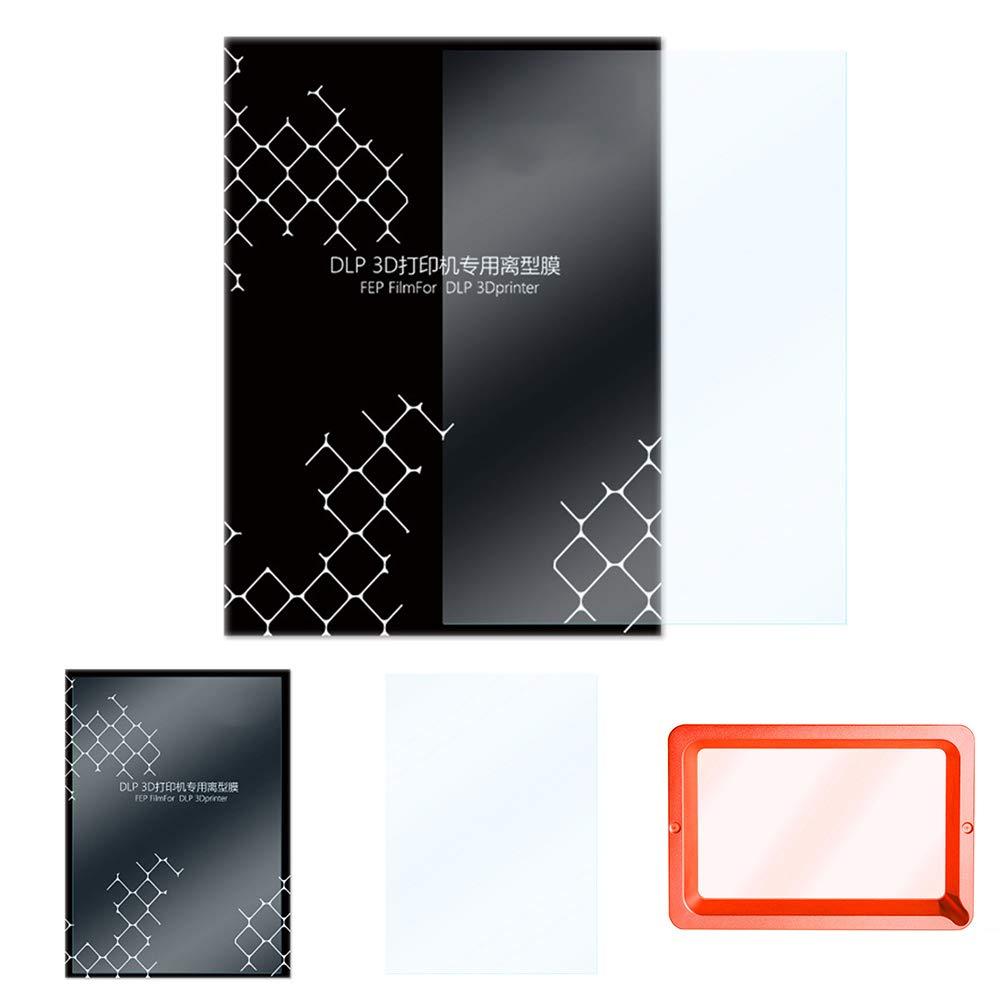 Lámina de liberación de FEP para impresora LCD 3D de 140 x 200 mm ...