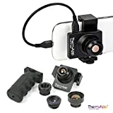 Therm-App TAS19AQ-1000-HZ 25 Hz Thermographic Imaging Camera Lens by Opgal | Compact Thermal Imager for Android Phone