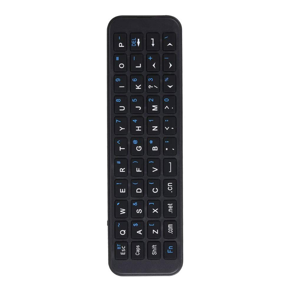 iPazzPort Apple TV Remote Keyboard for New Apple TV 4k and Apple TV 4th Generation with Apple TV Case for Apple TV Siri Remote Bluetooth Connection for Type and Search KP-810-56S