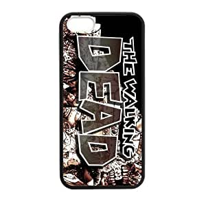New Case CASECOCO The Walking Dead Plastic TPU case cover 0i4a6iTulgO Cover Skin For iphone 5 5S BY shenglong