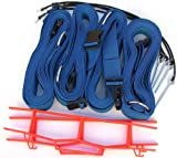 Home Court 19 AG Volleyball Adjustable Boundary Webbing, Blue