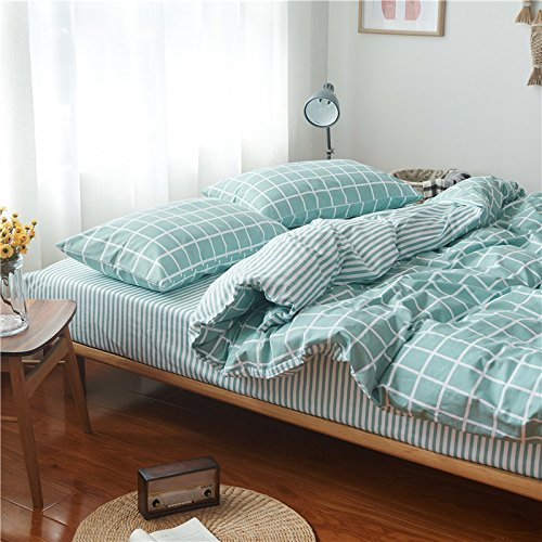 Bedding 4-Piece Bed Sheets Set Duvet Cover Sets,F Queen B072N34PWF Bettzubehr
