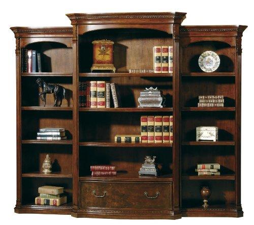 Hekman Home Office Executive 3 Piece Bookcase