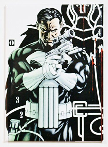 (Punisher Target - Marvel Comics - Refrigerator Magnet by Ata-Boy)