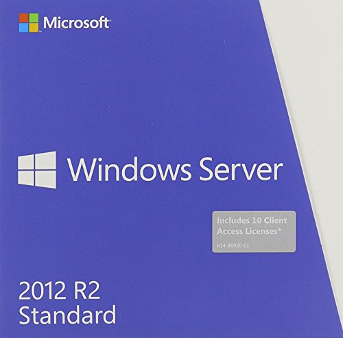 Software : Microsoft Windows Server Standard 2012 R2 64 Bit English DVD 10 Clt