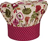 Handstand Kitchen Child's 100% Cotton 'An Apple a Day' Adjustable Band Chef's Hat