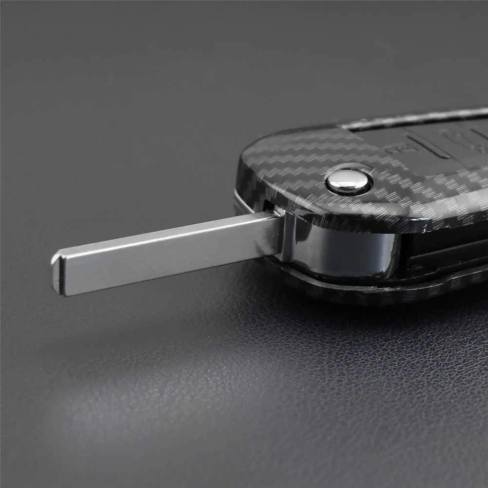 kioski Cl/é de Voiture en ABS en Fibre de Carbone Couverture /Étui de Protection Rigide pour Peugeot 208 301 308 508 2008 3008 pour Citroen C3 C4 C5-Elys/ée