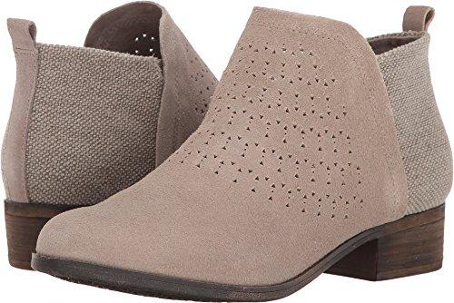 TOMS Women's Deia Bootie Desert Taupe Suede Radial Perf/Farren Boot