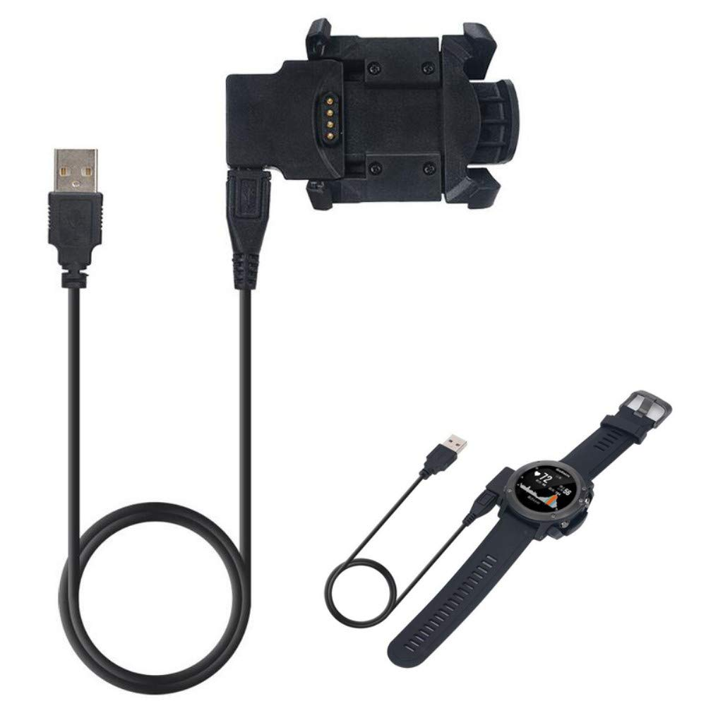 BEST2MOVIL Cargador USB Compatible con Garmin Fenix 3 HR ...