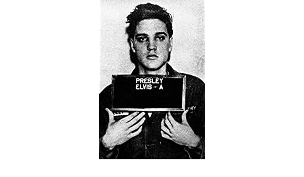 POSTER ELVIS PRESLEY  11x16 black and white