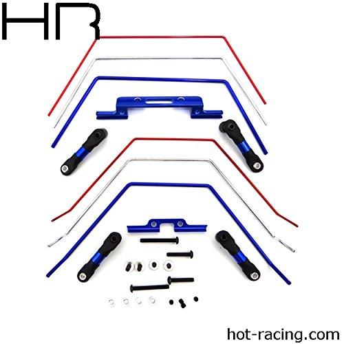 - Hot Racing Front and Rear Wide Sway Bar Kit: 2wd Slash