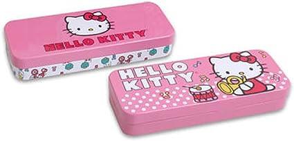 Sanrio Hello Kitty (estuche de lata, lapiz soporte – varios colores: Amazon.es: Oficina y papelería