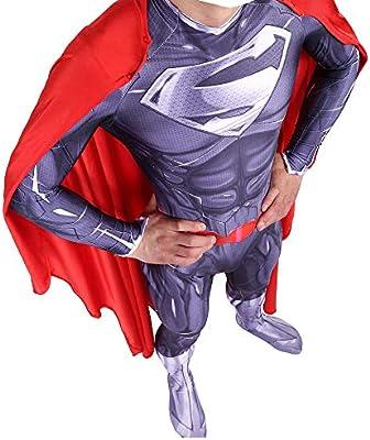 YXIAOL Traje De Superman, Traje De Superhéroe, Traje De Fiesta De ...