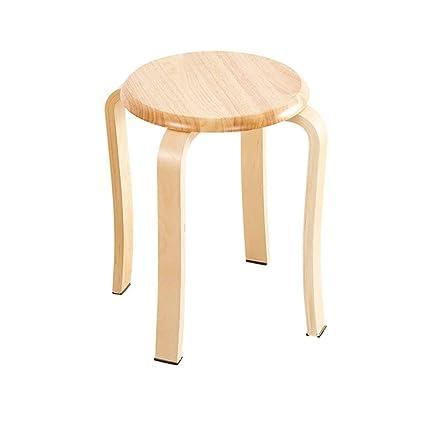 Fantastic Amazon Com Grjxmd 4 Leg Stool Wooden Poffee Yellow Stack Pdpeps Interior Chair Design Pdpepsorg