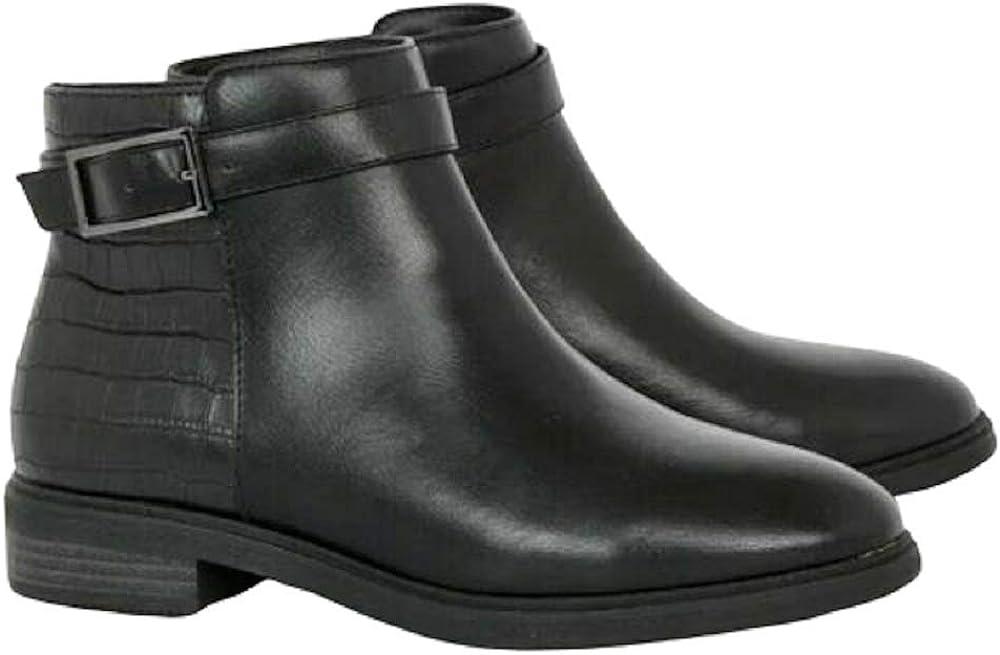 Ankle Boots Shoes UK 7 EU 70 Black