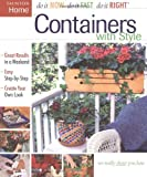 Containers with Style, Taunton Press Staff and Fine Homebuilding Editors, 1561586781