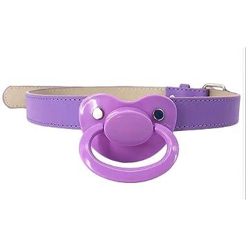 Amazon com : Baby Bear Pacis Adult Pacifier Gag, Purple Adult Paci