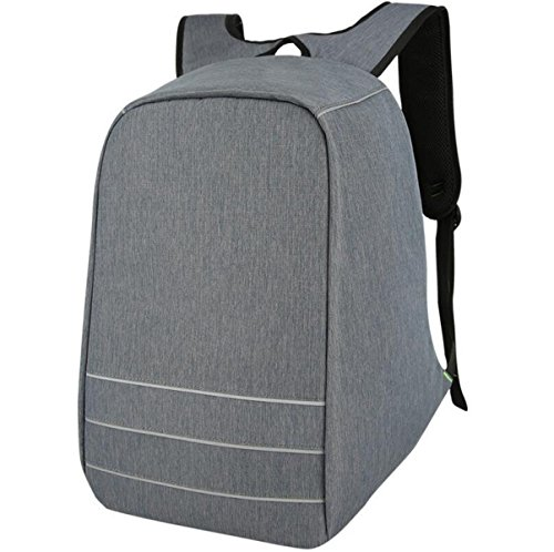 Grey Outdoor Shoulder Bag Student And Anti Travel Backpack Usb Women Computer Men Charge theft q4HUgOw