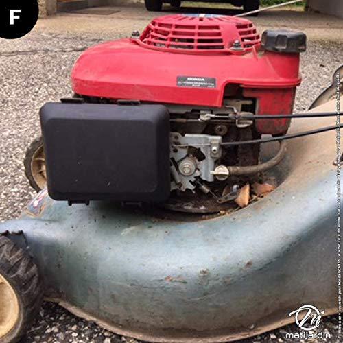 Filtro de Aire + tapa para Honda 17211-ZL8 - 000, 17231-ZM0 - 000 ...