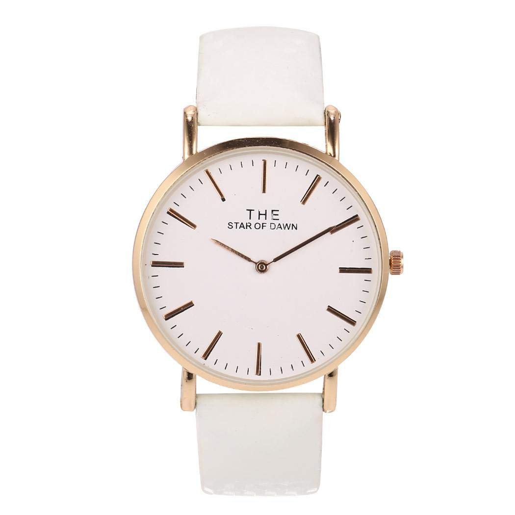 Etuoji Fashion Simple Style Temperature Change Color Watch Sun UV Color Change Quartz Watch