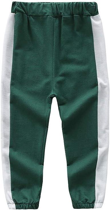Hongyuangl Niños Chico Pantalones de Entrenamiento para jóvenes ...