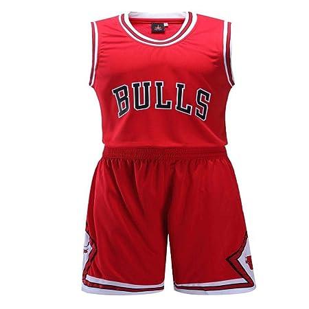 SXWA Baloncesto Uniformes Camiseta de toros, Impresa y ...