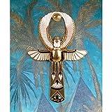 Design Toscano Egyptian Amun-Re Ankh Wall