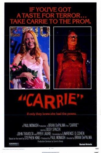 Carrie Original Movie Poster 1976